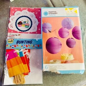 🌷3 package Party decorations